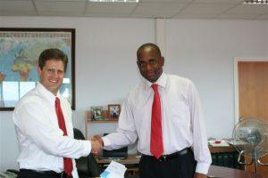 Dominica Prime Minister Roosevelt Skerritt