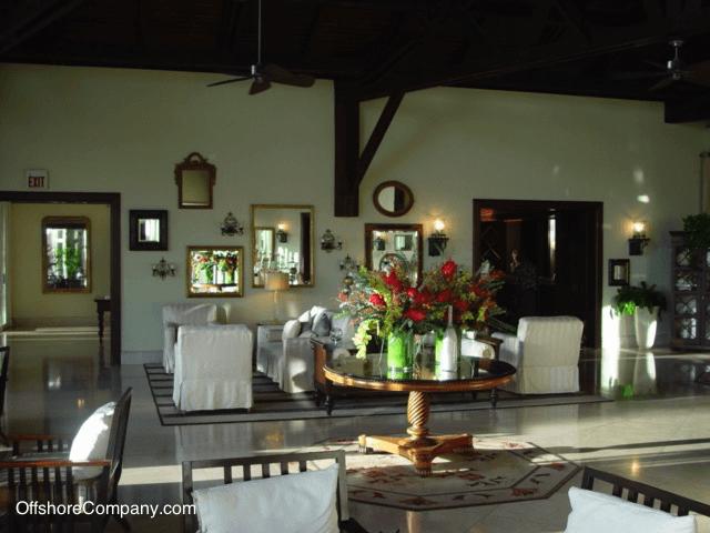 Nevis Hotel Lobby