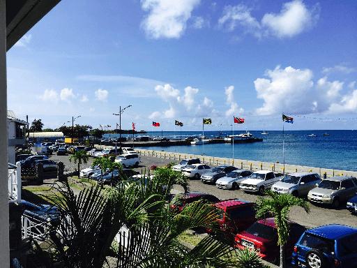 Pier in Nevis