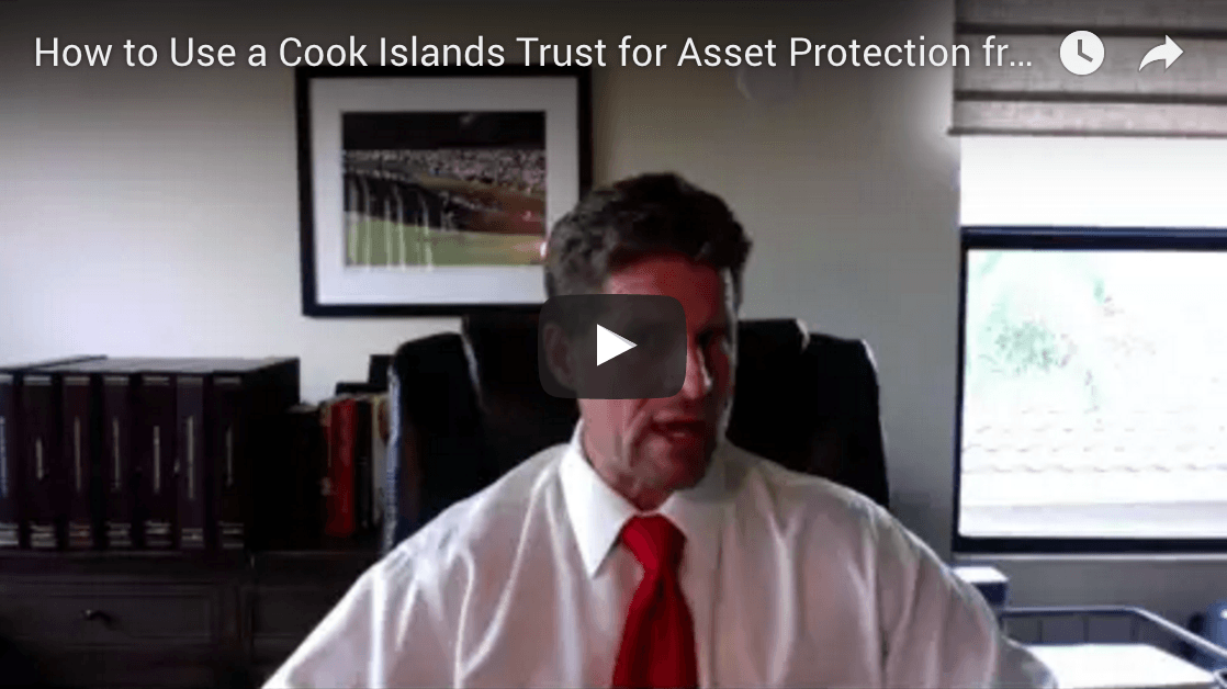 How to protect assets with a Cook Islands trust