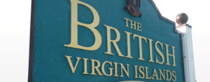 British Virgin Islands Sign