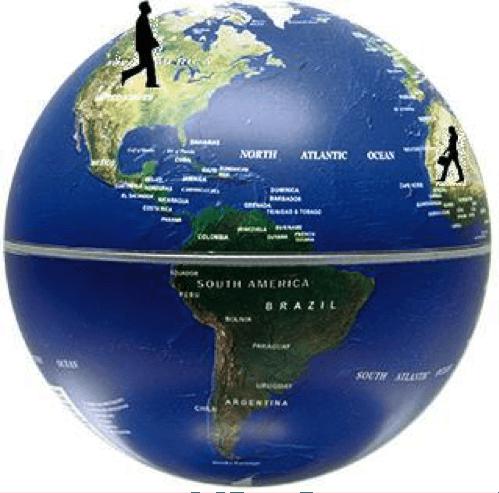 globe map