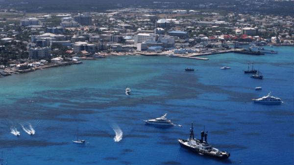 Harbor in Bermuda
