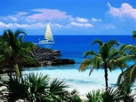 Boat in Bahamas