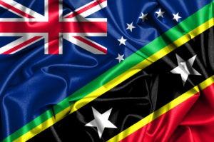 Cook Islands Nevis Flag