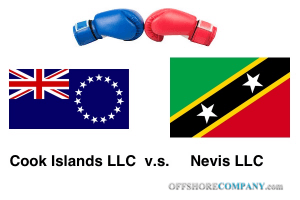 Nevis vs. Cook Islands LLC