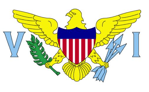 USVI bandera