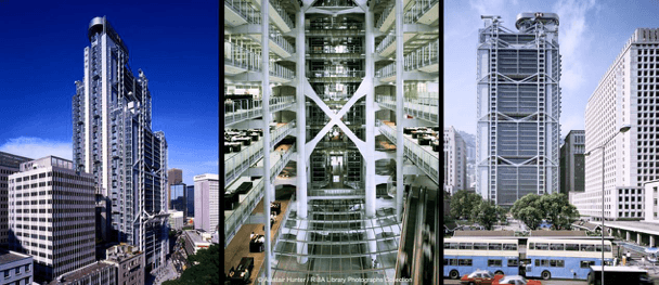 Office buildings in Hong Kong