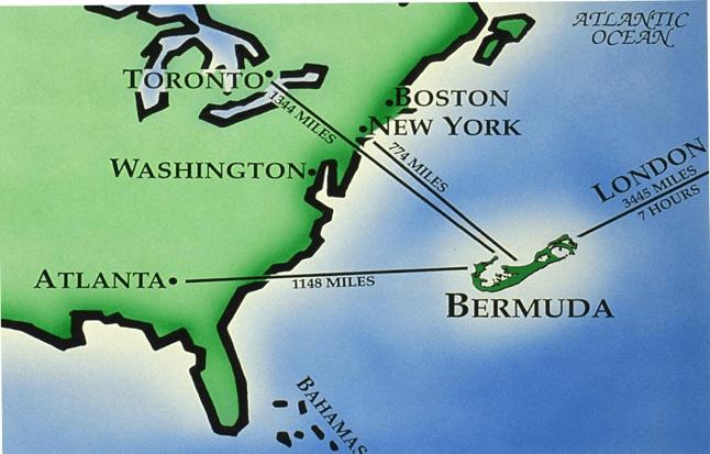 Bermuda xəritəsi