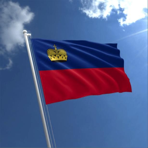 Lixtenşteyn bayrağı