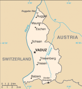 Liechtenstein Map