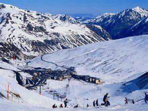 Andorran Ski Lodge