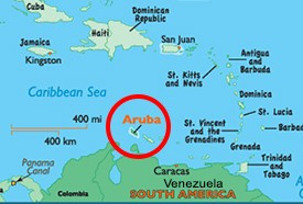 Aruba mapa