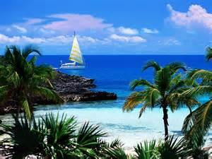Bahamian beach
