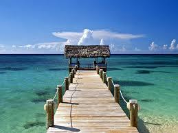 Bahamian pier
