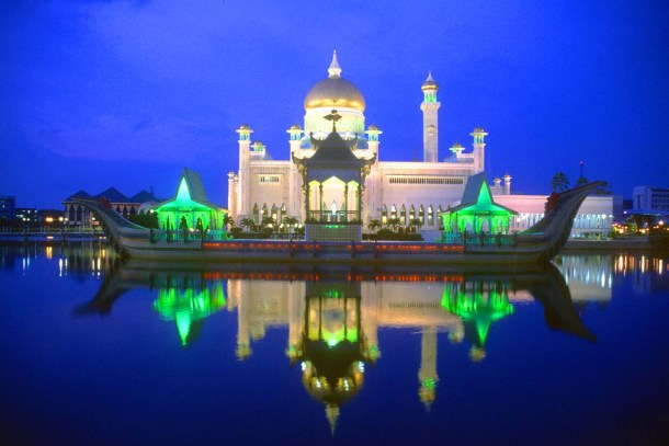 Beautiful building in Brunei