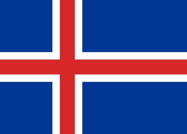Bandera d'Islàndia