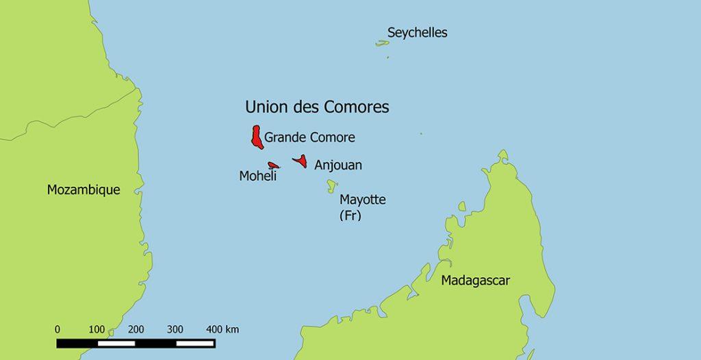 ကော်မ္မရိုဇ့်မြေပုံ