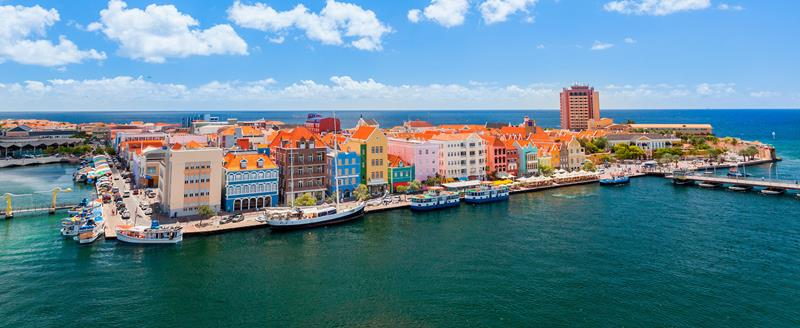 Curacao city view