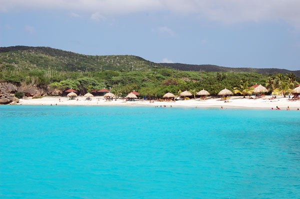 Beach in Curacao
