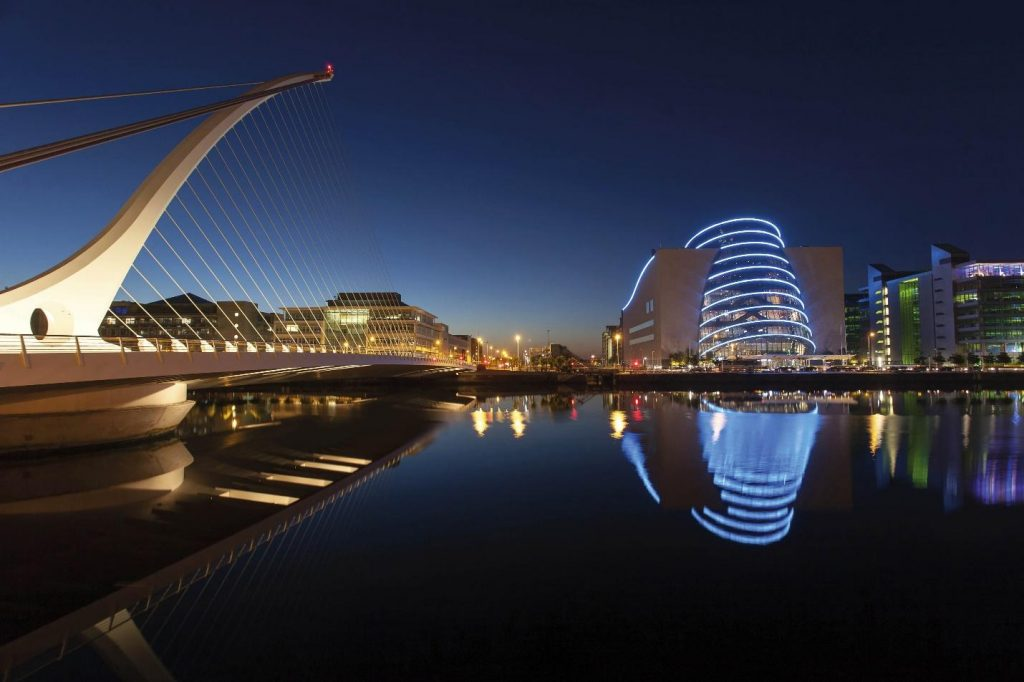 Irish corporation skyline