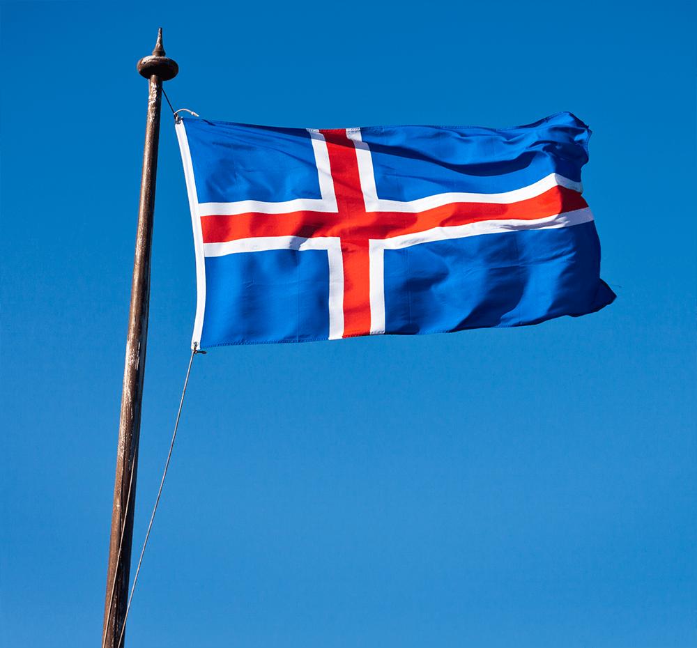 Islandiako bandera