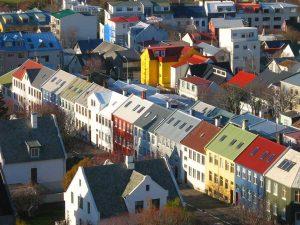 Reykjavík errenkadako etxeak