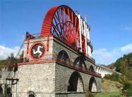 Isle of Man Water Wheel