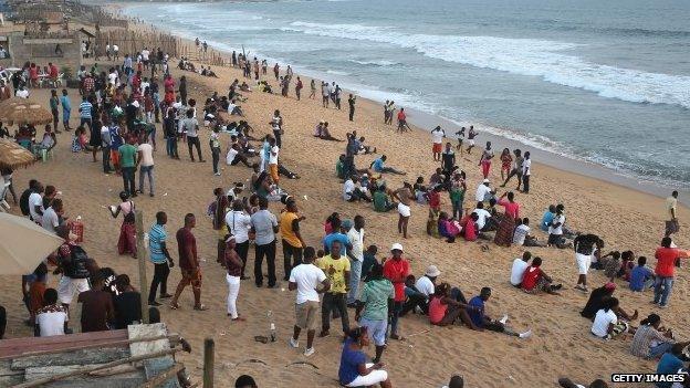 Liberian Company Beach