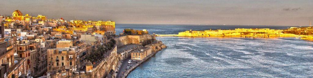 Inlet in Malta