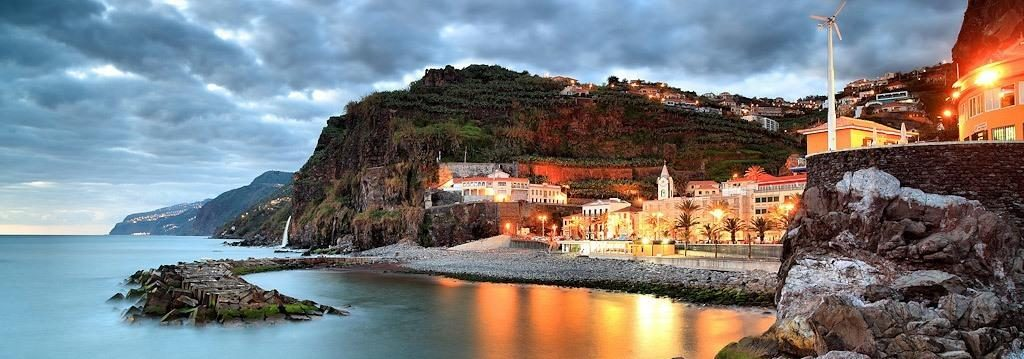 beach cove in Madeira