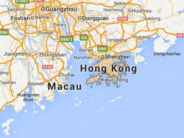 Macao mapa