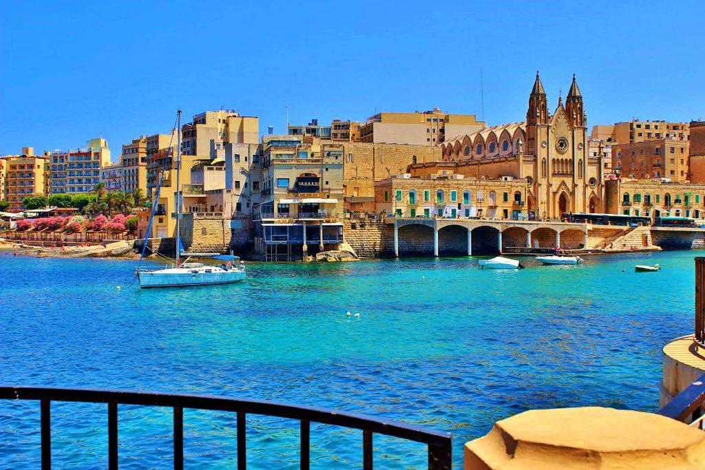Coastal City in Malta