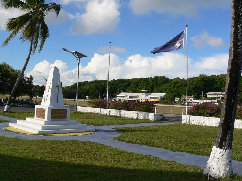 Monument in Nauru