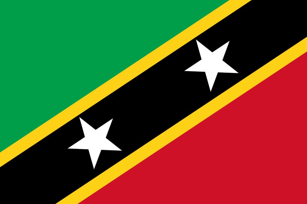 Bandera de Nevis