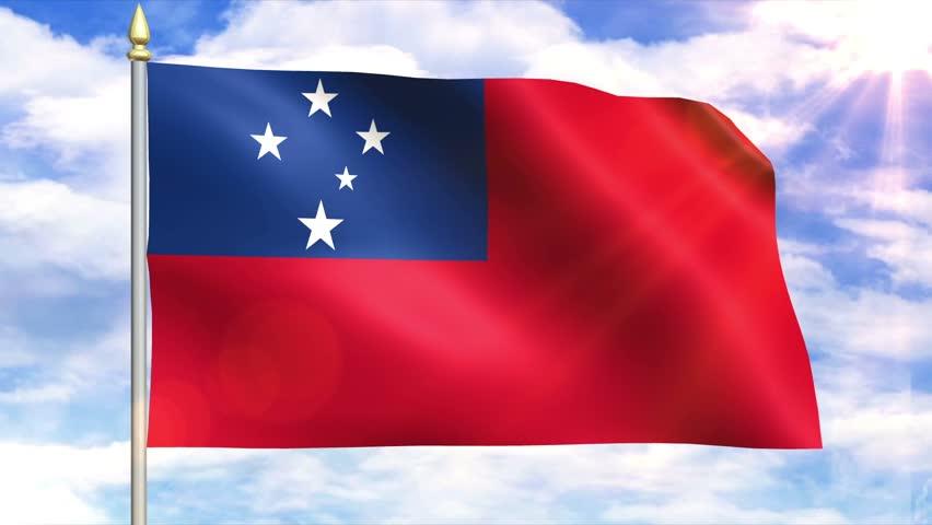 Samoan Flag
