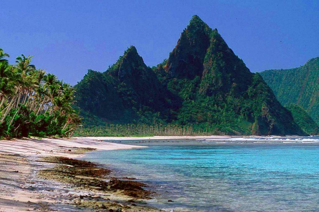 Samoan beach
