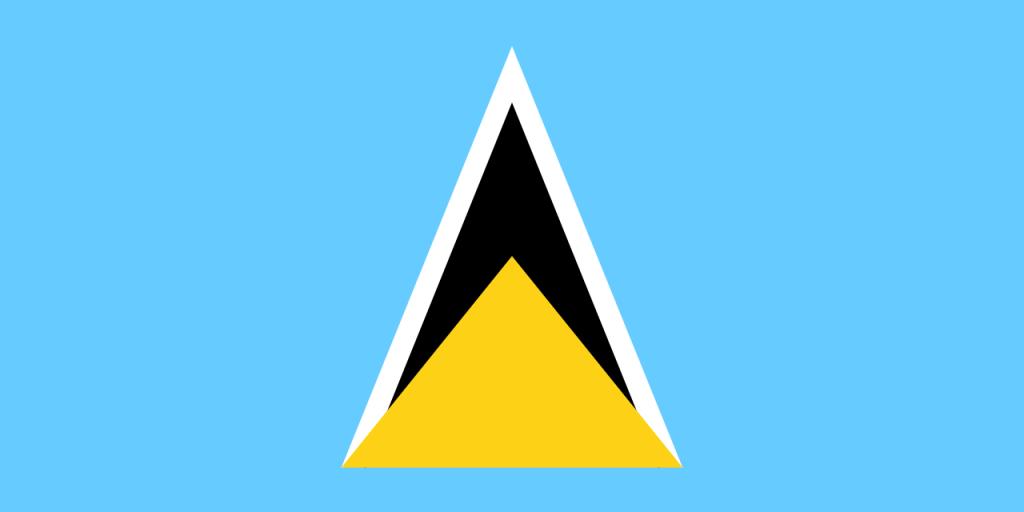 St. Lucia IBC flag