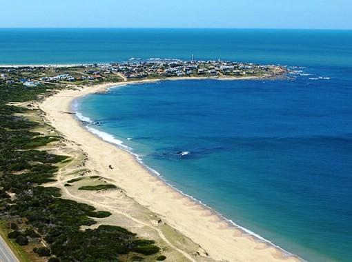Cove in Uruguay