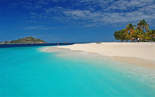 Beach in St. Vincent