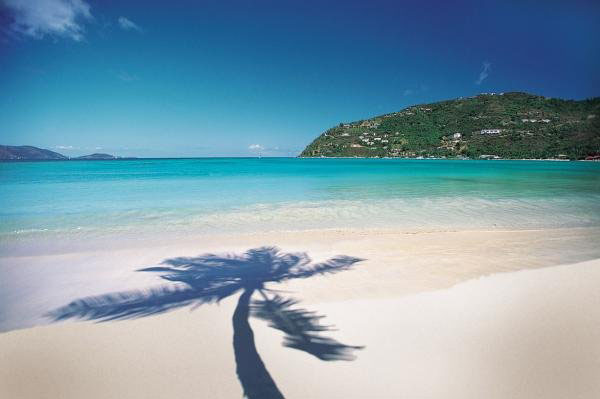 Beach in BVI