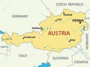 Austrian map
