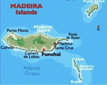 Madeirako mapa