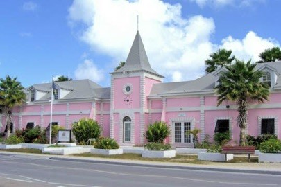 Capitol Building in Turks and Caicos