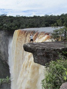 Waterfall in Guyana