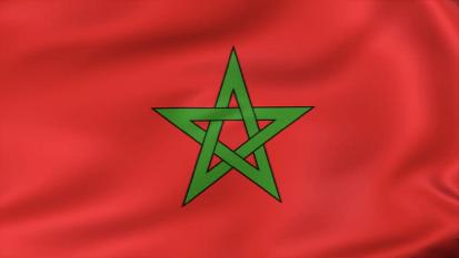 Bandera marroquina