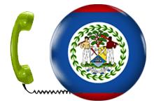 Numero di telefono di Belize