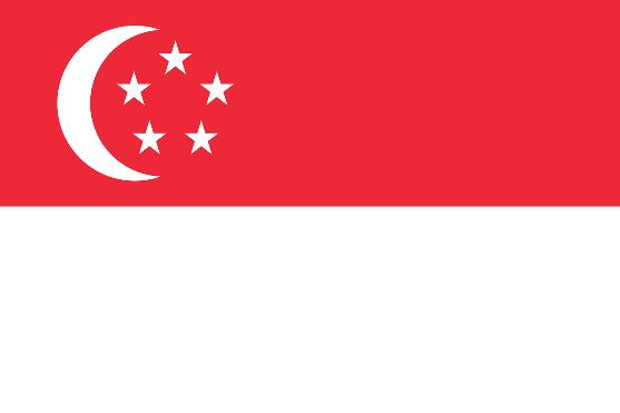 Flag na Singapore