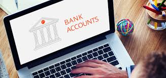 online bank account